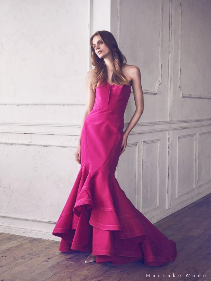 カラードレス ピンク3