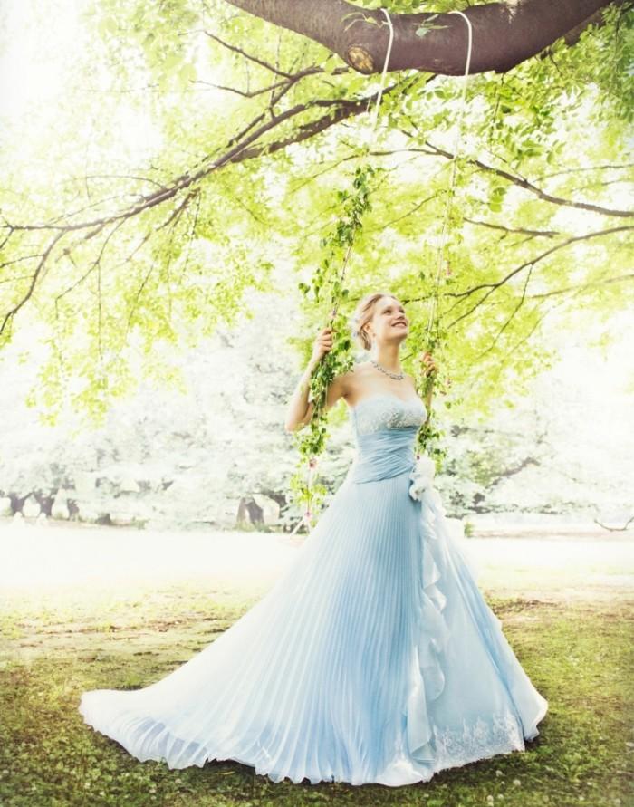 カラードレス ブルー1