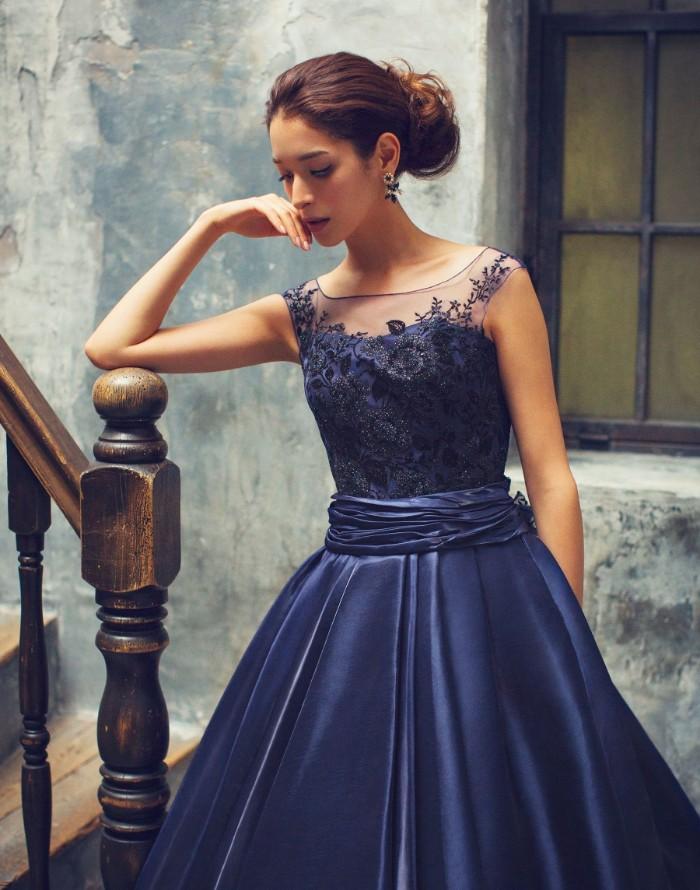 カラードレス ブルー3