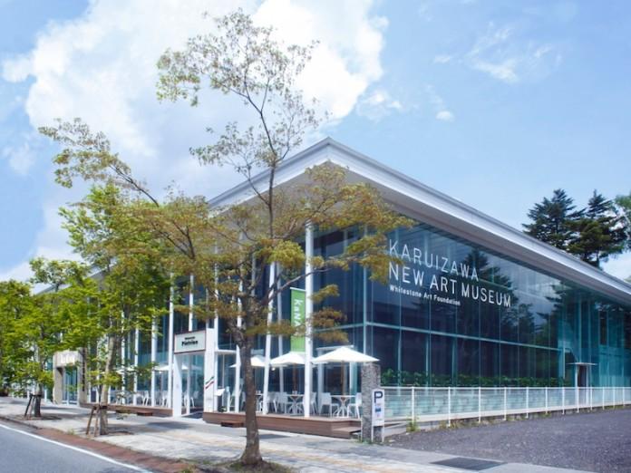 軽井沢ニューアート ウエディング 風通る白樺と苔の森